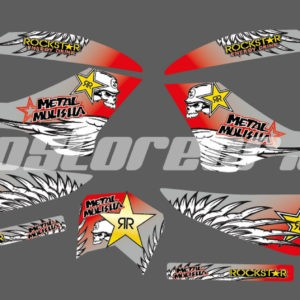 Decal kit metal mulisha
