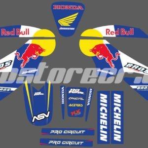 Kit Bross Red Bull 125cc