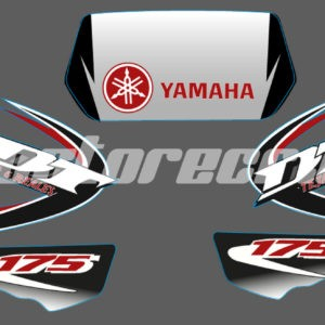 Calcos Boomerang 6 Tejas Reales DT 175cc