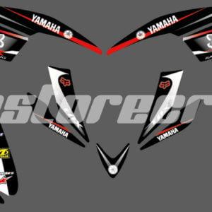 Calcas Yamaha Raptor 660 – Diseño Fox Rojo Enduro